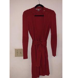 Diane von Furstenberg Red wrap dress
